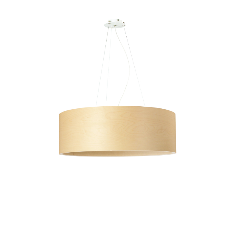 dreizehngrad pendant lamp model Funk 60/20P maple veneer lamp design lamp