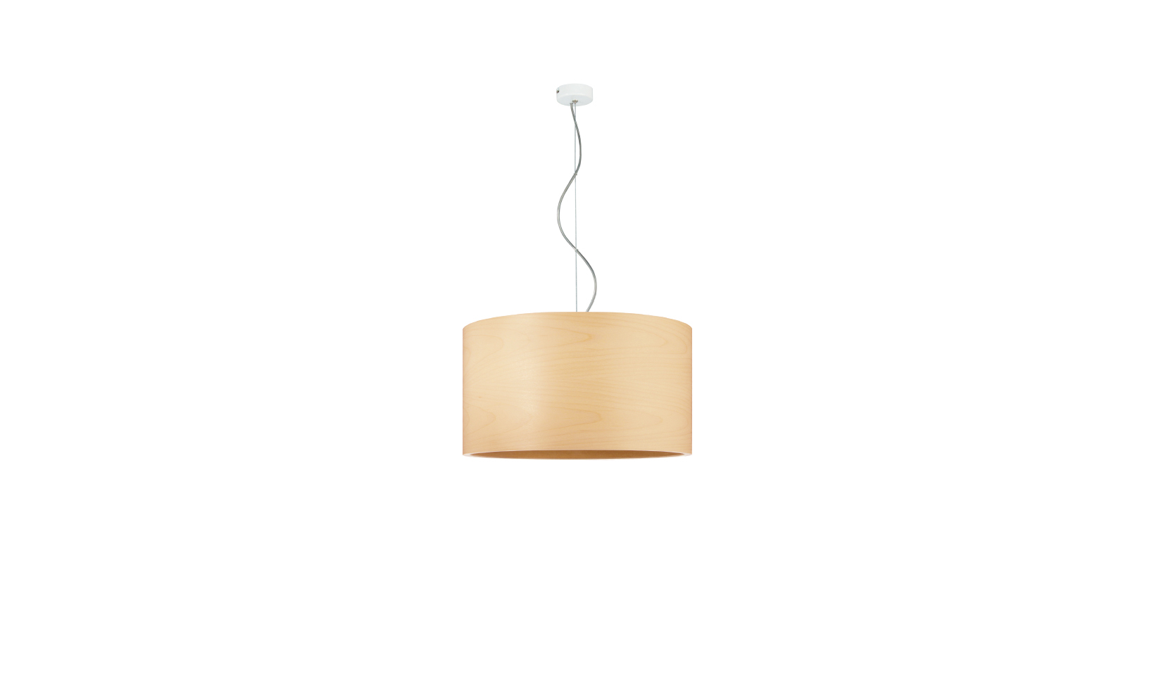 dreizehngrad pendant lamp model Funk 40/22P maple veneer lamp design lamp