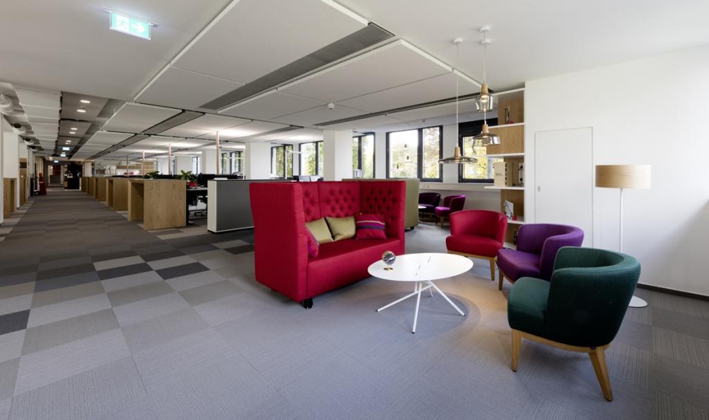 Häfele (Nagold) - office lighting