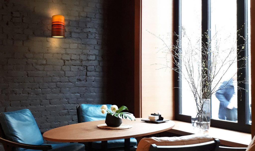 dreizehngrad Wandlampe Furnierleuchte Furnierlampe Designleuchte Leuchte für Restaurant Hotel Bar